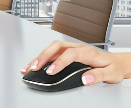 iRiver IR-WM5500 Wireless Mouse Low Noise Click 2.4Ghz DPI control Mouse (Black) image 3