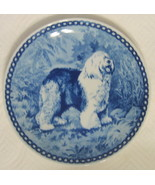 Johnjonsson Old English Sheepdog Plate Denmark Tove Svendsen - $49.00