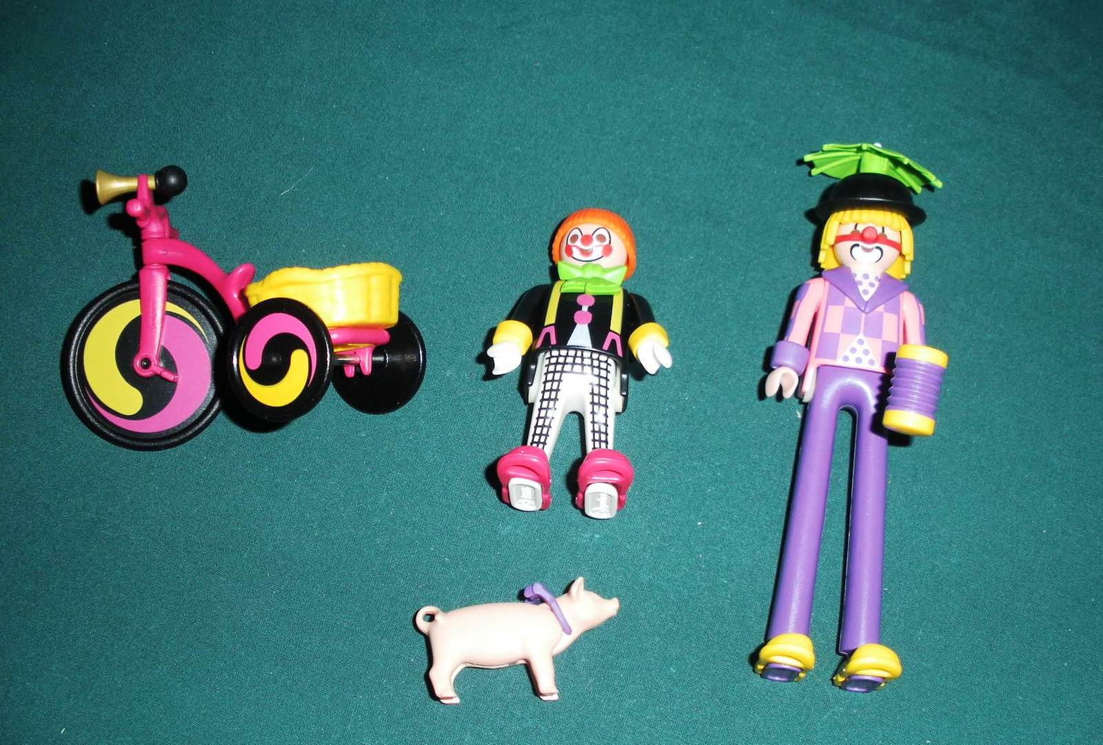 Vintage Playmobil #3808 Circus Romani Clowns Comp./Near Mint (ret.) (A)