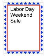 Labor Day Weekend Sale-Download-ClipArt-ArtClip... - $3.00