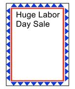 Huge Labor Day Sale-Download-ClipArt-ArtClip-Digital - $4.00