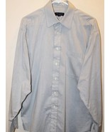 Ted Baker London Dress Shirt Men Gray  16 By 34/35 - $37.04