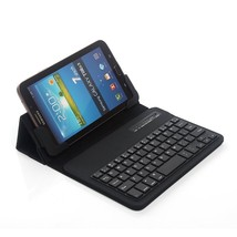 Newstyle Universal 7-8 Inch Bluetooth Tablet Folding Faux Leather Case W... - $27.59