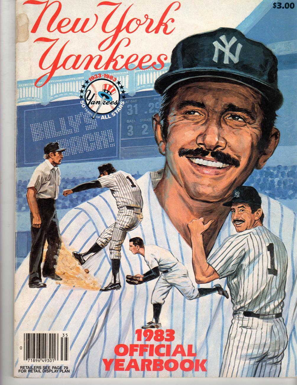 Primary image for New York Yankees Official Yearbook Magazine -1983