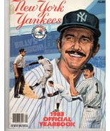 New York Yankees Official Yearbook Magazine -1983 - $9.95