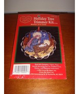 Cross My Heart Mother And Child Holiday Tree Trimmer Cross Stitch Kit - $12.49
