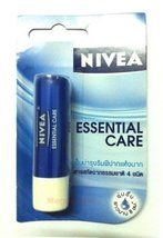 Nivea Lip Care - Essential Protect 8 Hr. Made in Thailand 4.8g - $7.90