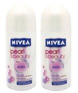 Nivea Pearl & Beauty Roll-on Anti-perspirant Deodorant 50 Ml (1.7 Fluid ... - $19.90