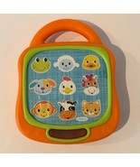 Infantino Musical Old McDonald Melody with Animal Sounds Baby Tablet Toy... - $9.99