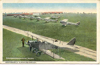 Primary image for United States Aero Squadron France 1922 Vintage Post Card
