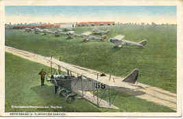 United States Aero Squadron France 1922 Vintage Post Card  - $6.00