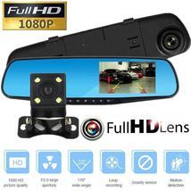 4.3 Inch Car Rear view Mirror DVR Camera Dual Lens Full H D Vehicle Camc... - $65.00