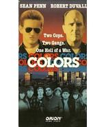 Colors VHS Sean Penn Robert Duvall Don Cheadle Damon Wayans - $1.99