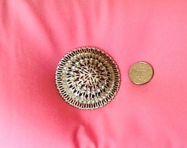 Monet filigree round brooch - $15.00