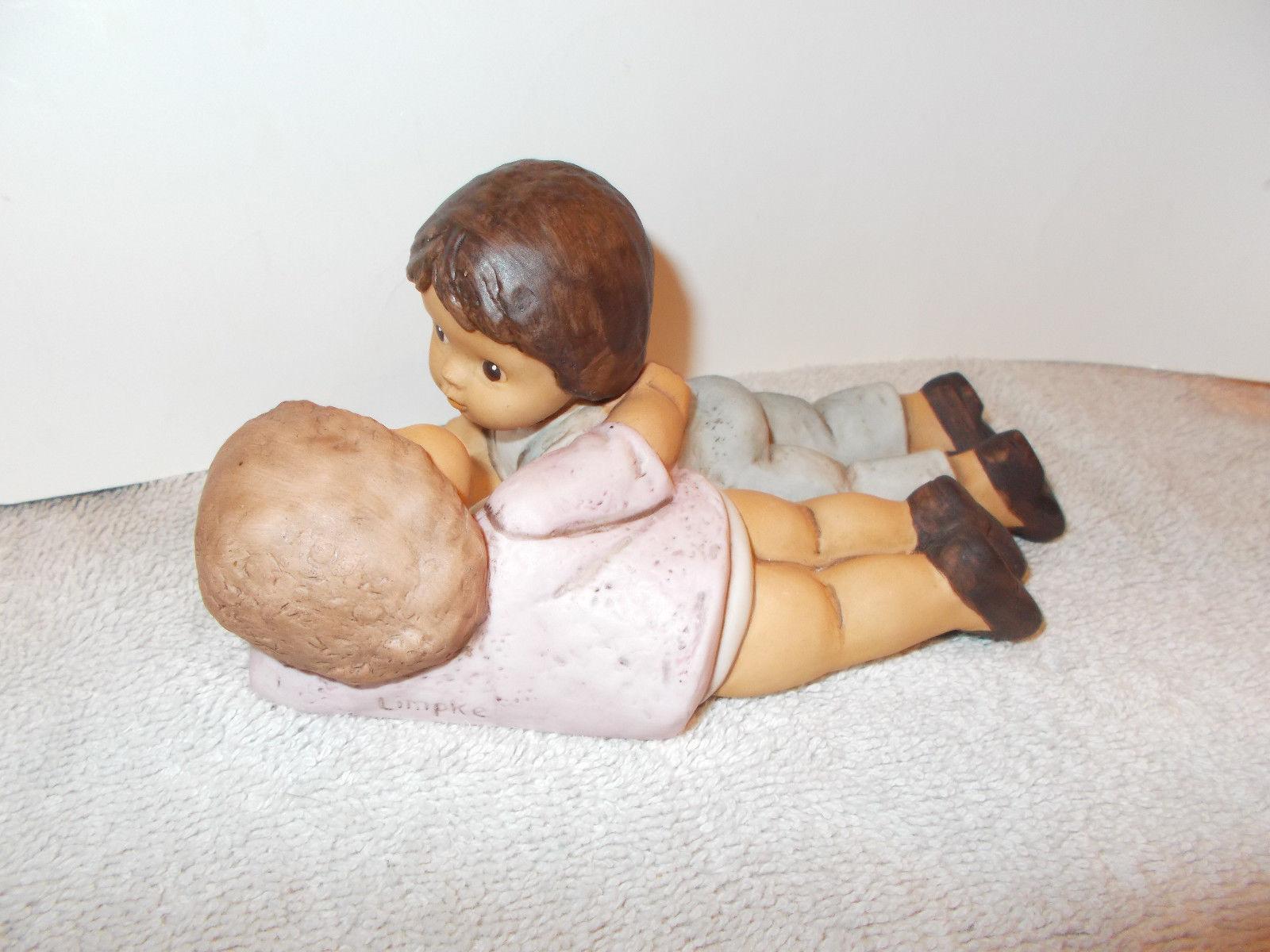 Limpke Goebel Nina Marco Brother and sister figurine
