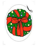 Wreath Coaster-Download-ClipArt-ArtClip-Digital... - $3.00