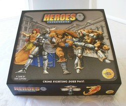 Heroes Incorporated Board Game 2004 Complete VGC - $14.00