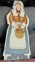 Pilgrim Girl Wooden - $6.04