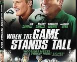 WHEN THE GAME STANDS TALL DVD - SINGLE DISC EDITION - NEW UNOPENED