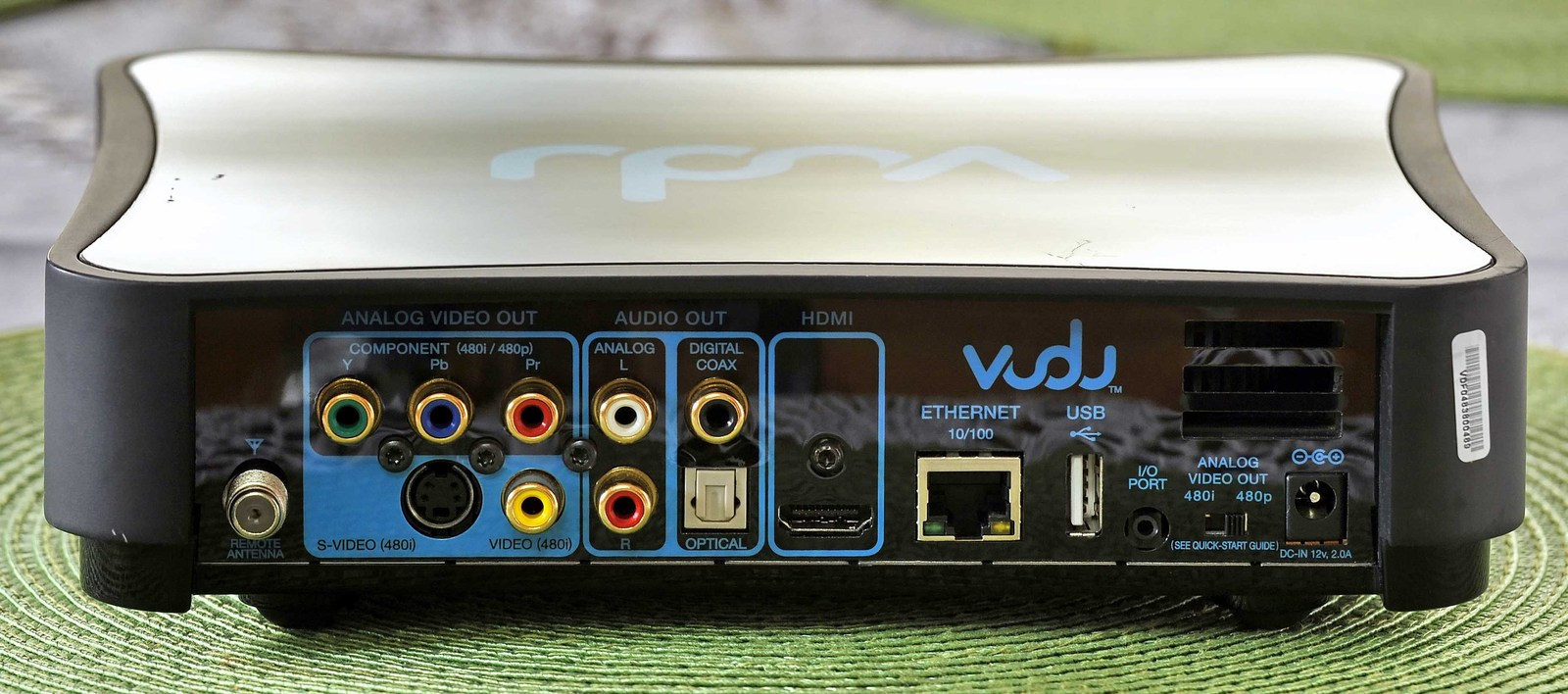 vudu Home Digital Multi-Plex Media Streamer Model: VUDUBX100 Works Great !