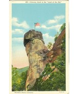 Chimney Rock in the Land of the Sky, Western North Carolina, 1920s unuse... - $5.77