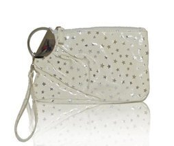 M Style Lab Stars Print Clamp Clutch (Off-White) - €9,06 EUR