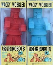 Rock Em Sock Em Robots Wacky Wobbler Bobblehead Set by FUNKO NIB - $51.97