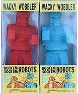 Rock Em Sock Em Robots Wacky Wobbler Bobblehead Set by FUNKO NIB - $51.97