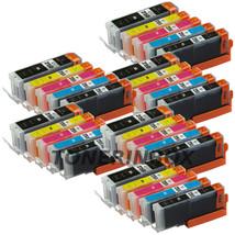 30 Pk PGI250XL CLI251XL Ink Set For Canon Pixma MG5420 MG5520 MG6320 MX7... - $22.98