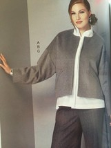 Vogue Sewing Pattern Kathryn Brenne 9162  Misses Jacket Pants Size XS-M New - $23.86