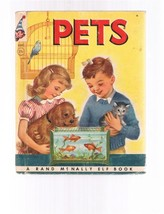 Vintage PETS by Anna Ratzesberger - 1954 -  Rand McNally Elf Book - 8392:25 - $2.99