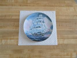 Danbury Mint Great American Sailing Ship Collector's Plate -Ann Mckim - Maritime - $17.99
