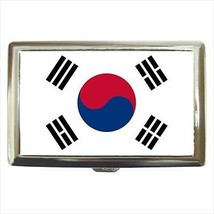 South Korea Cigarette Money Case - South Korean Flag - $12.56