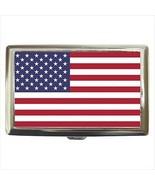 United States of America Cigarette Money Case - American Flag - $12.56