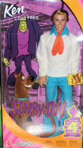 Barbie Doll - Ken & Scooby Do  (Ken As Fred) - $45.00