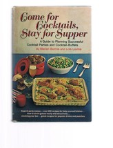 Vintage COME FOR COCKTAILS STAY FOR SUPPER-Burros-200 recipe-cookbook-Pa... - $9.99