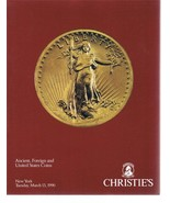 CHRISTIE'S Ancient Foreign And United States Coins Catalog March 13, 199... - $24.99