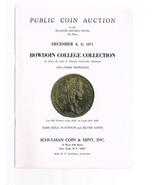 SCHULMAN Coin Auction Catalog 8 December 1971 -Bowdoin College Collectio... - $24.99