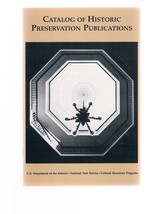 Catalog Of Historic Preservation Publications Booklet - Cultural Resources - $9.99