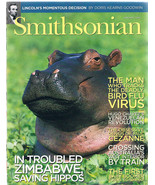 SMITHSONIAN Magazine January 2006-Cezanne-Lincoln-Hippo-Bird Flu Virus-Australia - $9.99