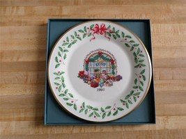 Lenox 1995 Annual Christmas Plate - Fifth in series - Toy Store - China - $99.99
