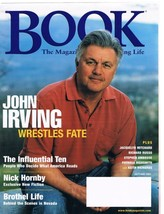 BOOK Magazine July 2001-John Irving-Nick Hornby-Stephen Ambrose-Keith Richards + - $9.99
