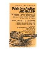 SCHULMAN Coin Auction Catalog 27 March 1972 -Admiral Vernon Collection -... - $24.99