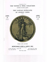 SCHULMAN Coin Auction Catalog 26 April 1972 -Victor H Weill - Vatican Du... - $24.99