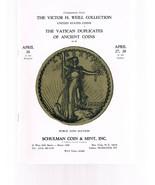 SCHULMAN Coin Auction Catalog 26 April 1972 -Victor H Weill - Vatican Du... - $24.99