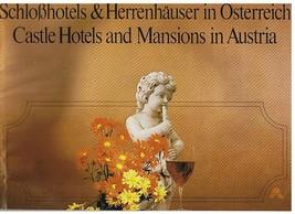 Vintage SchloBhotels - Castle Hotels - Mansions in Austria -booklet - Tr... - $9.99