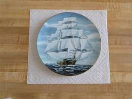 Danbury Mint Great American Sailing Ship Collector's Plate-Flying Cloud-Maritime - $19.99