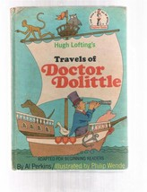 Vintage TRAVELS OF DOCTOR DOLITTLE by Hugh Lofting - HB - 1967 Beginner ... - $9.99
