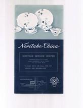 Vintage NORITAKE CHINA brochure-Japan - Includes Price List - $9.99