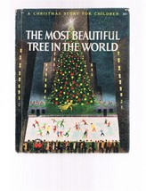 Vintage MOST BEAUTIFUL TREE IN THE WORLD -Wonder Books-1956 Christmas St... - $9.99